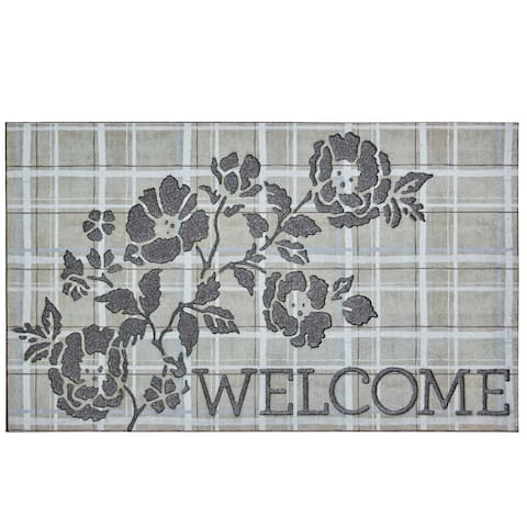 Mohawk Home Doorscapes Welcome Pastorial Elegance Door Mat (1'6 x 2'6)