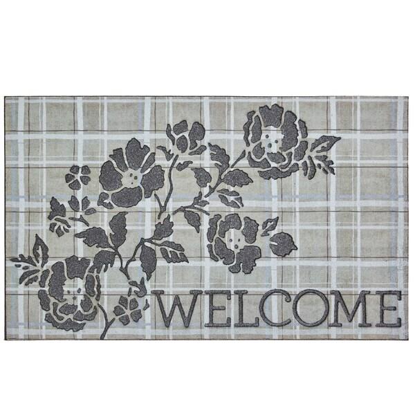 Mohawk Home Doorscapes Welcome Pastorial Elegance Door Mat (1'6 x 2'6)
