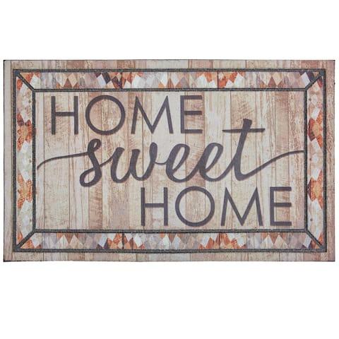 Mohawk Home Doorscapes Rustic Sweet Home Door Mat (1'6 x 2'6)