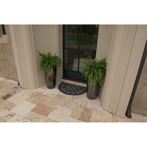 Mohawk Home Doorscapes Estate Deco Tile Slice Door Mat (1'11 x 2'11)