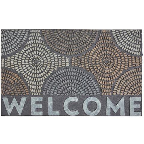 Mohawk Home Doorscapes Welcome Radiant Color Burst Door Mat (1'6 x 2'6)