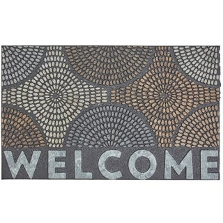Mohawk Home Doorscapes Welcome Radiant Color Burst Door Mat (1'6 x 2'6)
