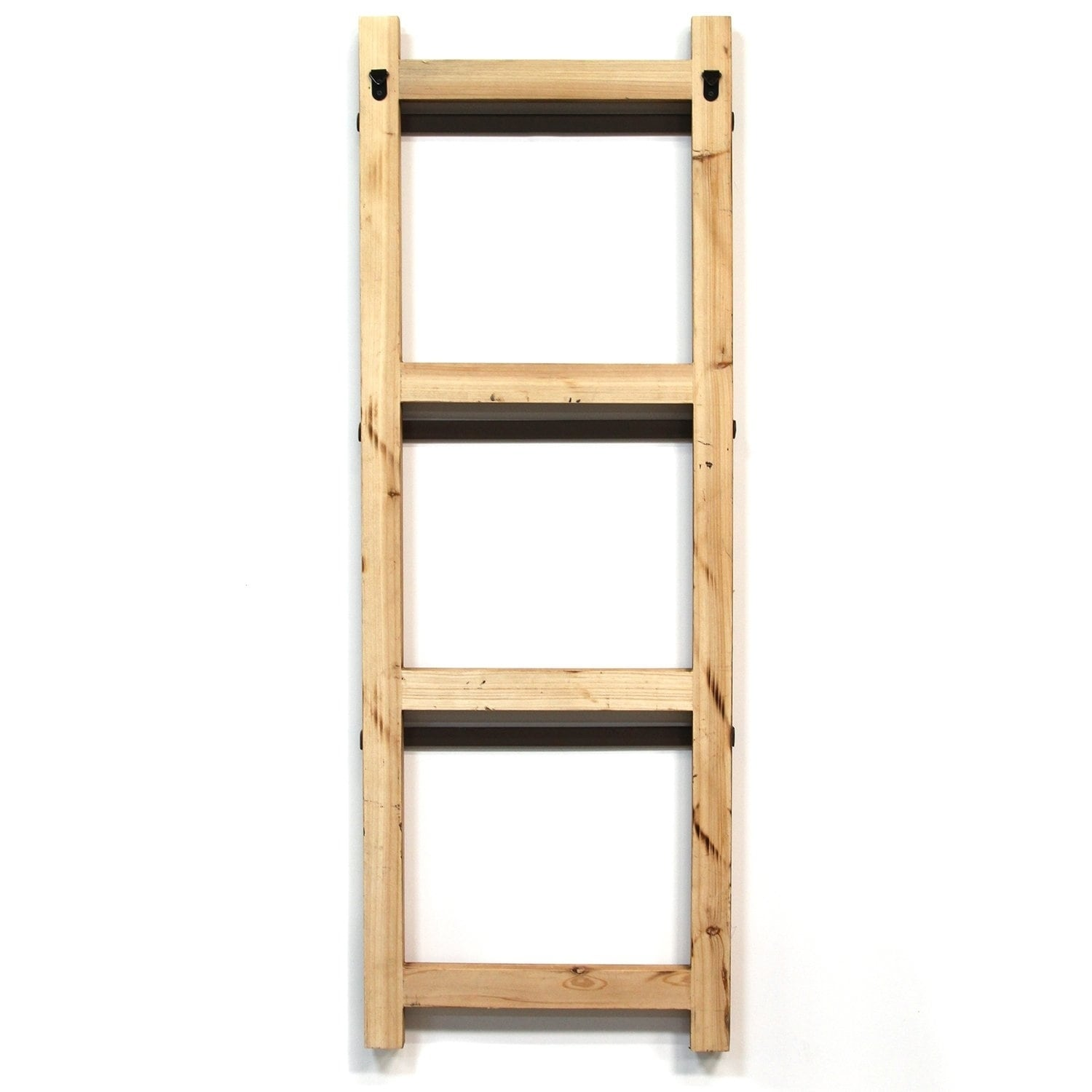 Stratton Home Decor Decorative Ladder With Baskets Wall Decor On Sale Overstock 22989031