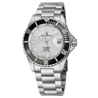 Revue Thommen Men's 17571.2127 'Diver' Silver Dial Stainless Steel Bracelet Swiss Automatic Watch