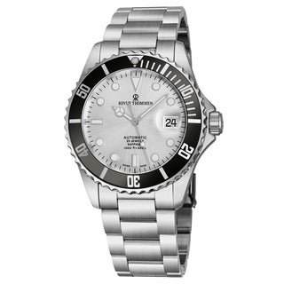 Link to Revue Thommen Men's 17571.2127 'Diver' Silver Dial Stainless Steel Bracelet Swiss Automatic Watch Similar Items in Men's Watches