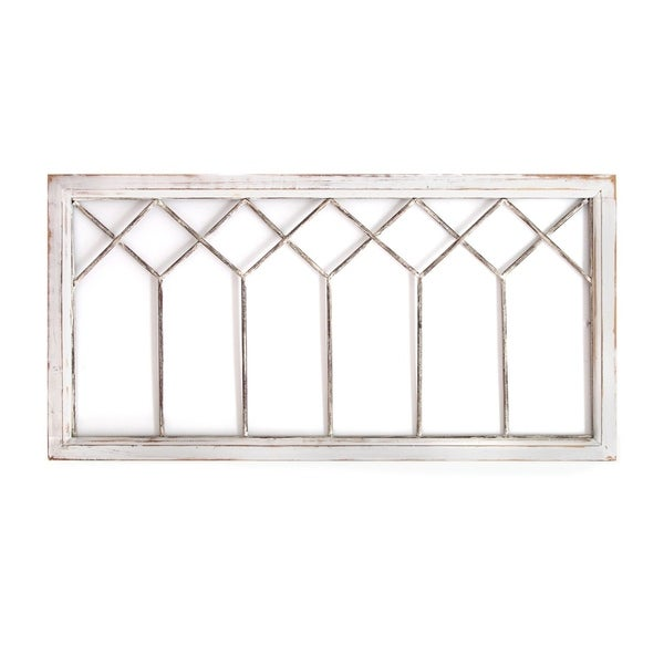 Shop Stratton Home Decor Distressed Window Panel Wall ...