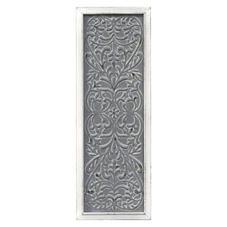 Stratton Home Decor Metal Embossed Panel Wall Decor - N/A