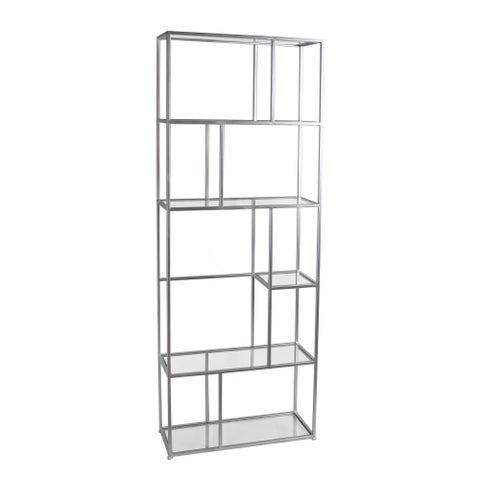 Silver Metal Bakers Rack