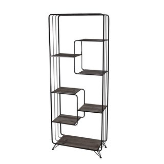 Metal Iron & Natural Finished Bakers Rack
