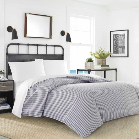 Nautica Coleridge Stripe Duvet/Sheet Set Bundle