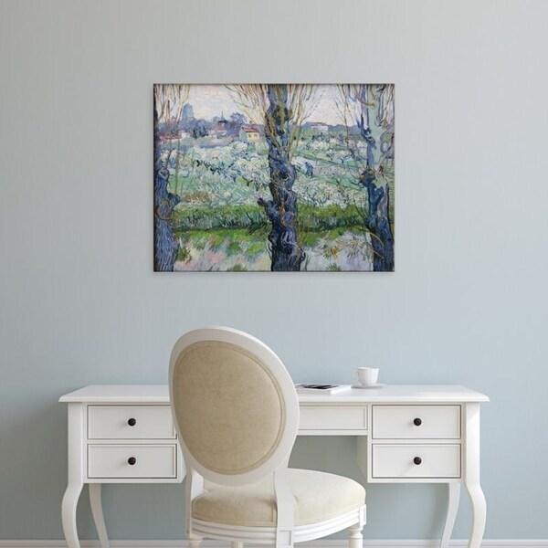 shop easy art prints vincent van gogh s blick auf arles premium