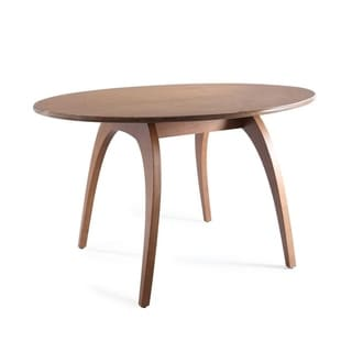 Posh Pollen Walnut Oval Conference Table by Hives & Honey - Brown