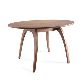 Haven Home Walnut Oval Conference Table by Hives & Honey - Brown