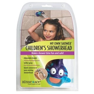 Rinse Ace My Own Shower Polished 1 settings Children Showerhead 2.5 gpm