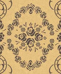 Safavieh Indoor/ Outdoor Garden Natural/ Brown Rug (4' x 5'7)