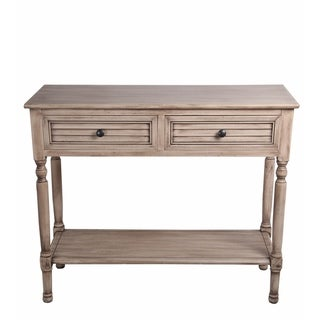 2 Drawer Sahara Morning Accent Console Table