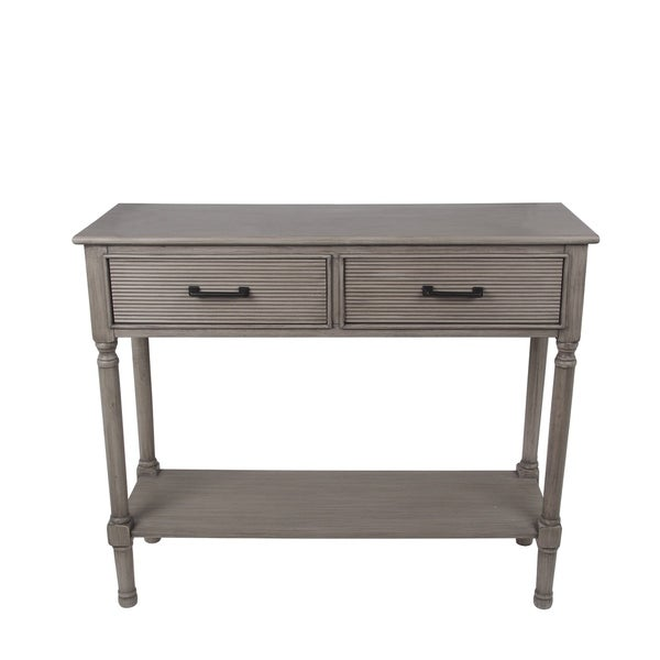 2 Drawer Savannah Accent Console Table
