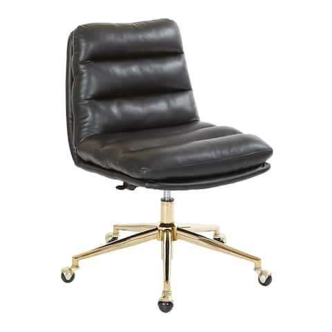 Avenue Six Legacy Faux Leather Adjustable Height Swivel Office Chair