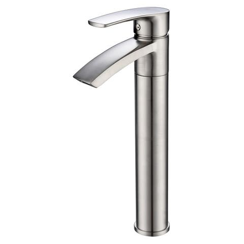 """Ariana 12"""" Single Hole Vessel Sink Bathroom Faucet with Swivel Spout"""