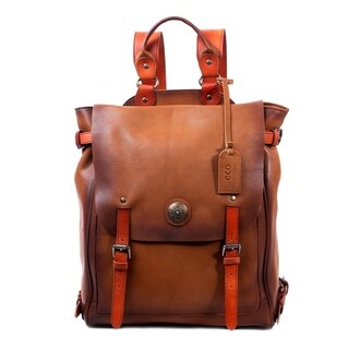 Old Trend Lawnwood Leather Backpack