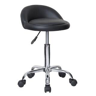 Juno Adjustable Height Massage Stool with Wheels