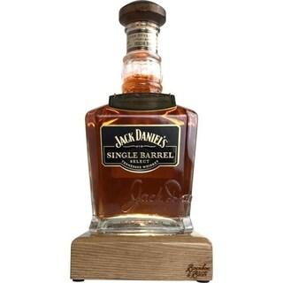 Reclaimed Bourbon & Whiskey Bottle Liquid Desk Lamp - Jack Daniel's Select