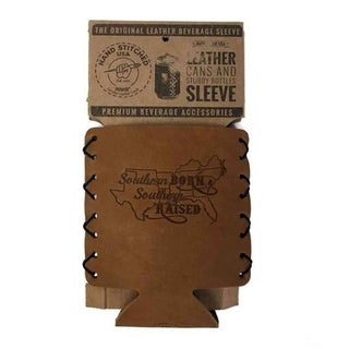 Southern Inspired Leather Beverage Can Sleeve