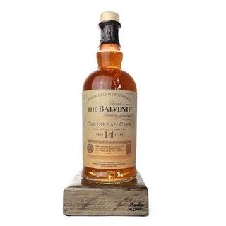 Reclaimed Single Malt Scotch Bottle Liquid Desk Lamp - Balvenie