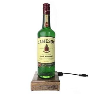 Reclaimed Single Malt Scotch Bottle Liquid Desk Lamp - Jameson Irish Whiskey