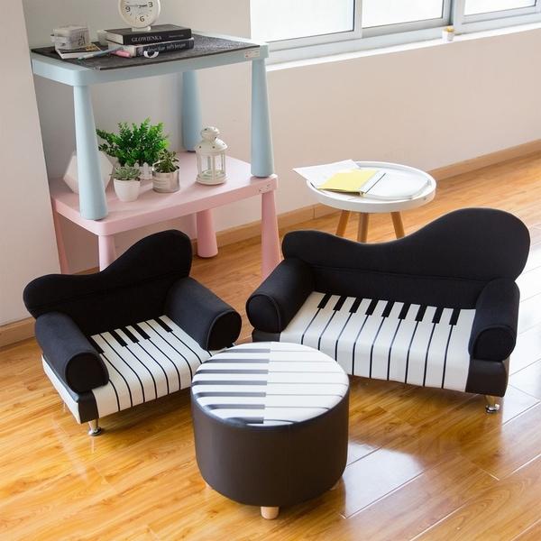 Shop Kinbor Kids Sofa Chair Children Armrest Chair Upholstered Couch