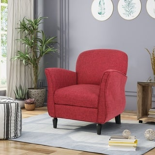 Swainson Traditional Tweed Armchair by Christopher Knight Home