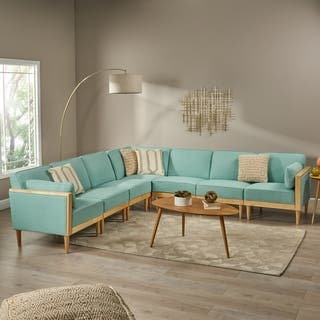 Pembroke 7-Piece Sectional Sofa Set by Christopher Knight Home