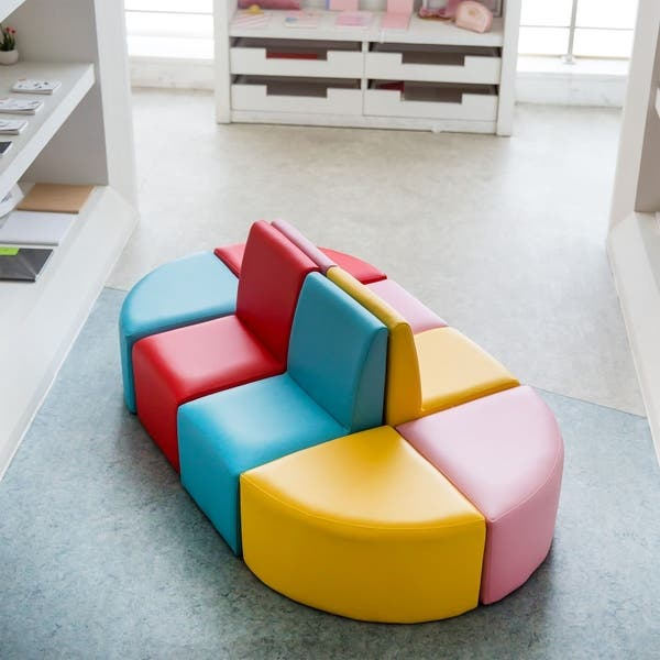 Kids Table Chair Set Foam Sofa