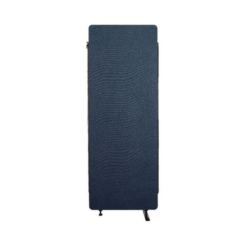 Luxor Reclaim Office, Classroom Wall Partition Freestanding Acoustic Room Divider, Expansion Panel- Starlight Blue