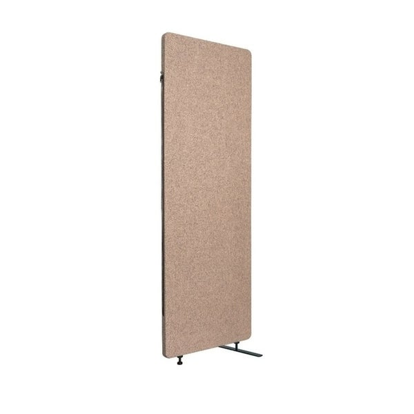 Luxor Reclaim Office, Classroom Wall Partition Freestanding Acoustic Room Divider, Expansion Panel- Desert Sand