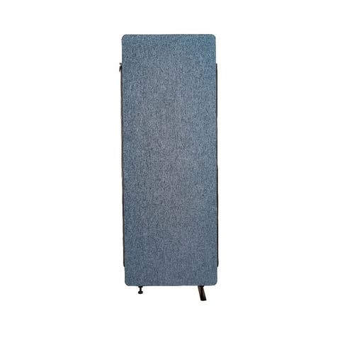 Luxor Reclaim Office, Classroom Wall Partition Freestanding Acoustic Room Divider, Expansion Panel- Pacific Blue