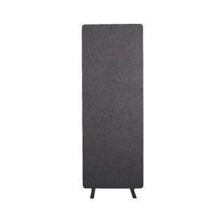 Luxor Reclaim Office, Classroom Wall Partition Freestanding Acoustic Room Divider, Single Panel - Slate Gray