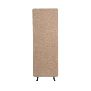 Luxor Reclaim Office, Classroom Wall Partition Freestanding Acoustic Room Divider, Single Panel - Desert Sand