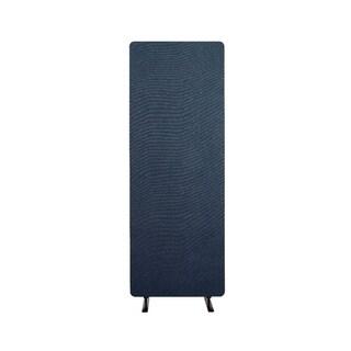Luxor Reclaim Acoustic Fabric Single Panel Room Divider In Starlight Blue