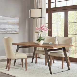 Madison Park Chelton Brown Rectangle Dining Table