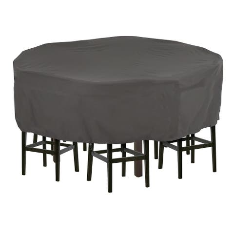 Plus Large Round Patio Waterproof Dining Set Cover by Direct Wicker