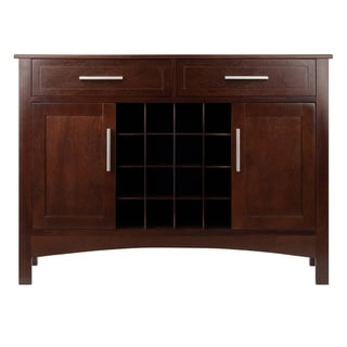 Link to Winsome Gordon Solid and Composite Wood Buffet Cabinet/Sideboard in Cappuccino Finish Similar Items in Kitchen Carts