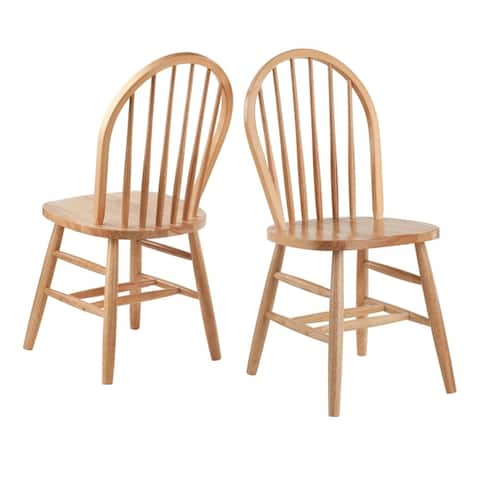 Windsor Chair 2-PC Set RTA Natural