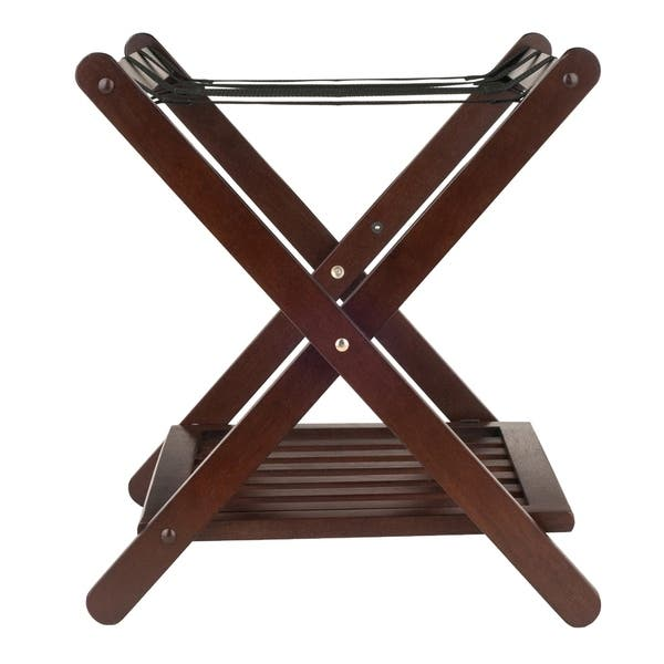 Winsome Remy Shelf Luggage Rack Cappuccino