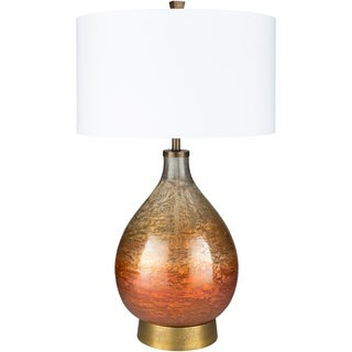 Ludoviko Rust Lacquered Glass Table Lamp