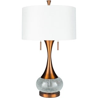 Watson 33.25 in. Bronze Updated Traditional Table Lamp