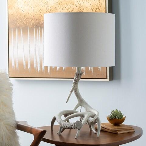 Weslie Rustic Antler Table Lamp - N/A