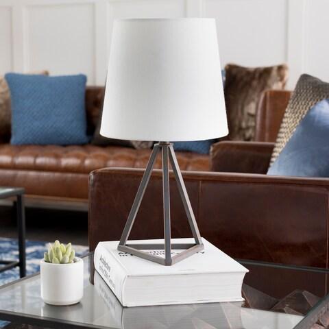 Kelleigh Bronze Farmhouse Tripod Table Lamp - N/A
