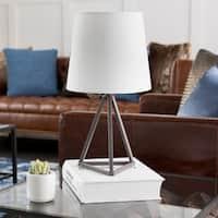 Kelleigh Bronze Farmhouse Tripod Table Lamp