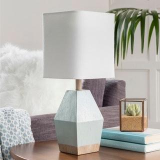 Ellinor Aqua Petite Table Lamp